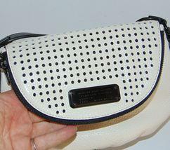 Marc by MARC JACOBS New Q Perforated Mini Natasha Bag  Black/Milk image 5