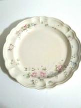Pfaltzgraph Tea Rose Dinner Plate Pink Roses - $9.90