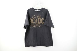ACDC Rock or Bust In Rock We Trust 2015 Official Band Tour Shirt Mens 2X... - $29.65