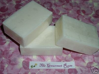 Primary image for Lot 3 GOATS MILK SOAP 100% Natural Handmade UNSCENTED