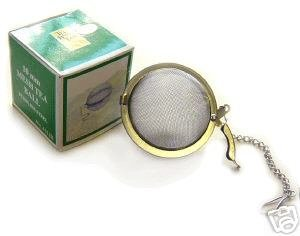 "Primary image for 2"" TEA BALL STRAINER STEEPER INFUSER Stainless Steel"