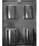 DOME 4 Cavity Domed Soap Mold and Melt Pour Bar Molds - $3.75
