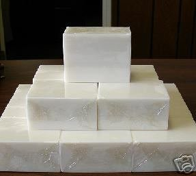 Primary image for 10 lbs SOY MILK MELT AND POUR Soymilk Natural Soap BULK