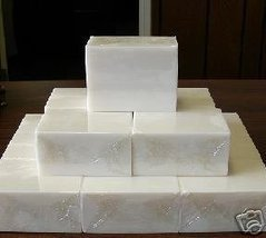 5 Lbs Extra Hard White Melt And Pour Soap 100% Natural Glycerin Wholesale Bulk - $27.50