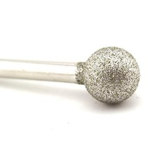 ILOVETOOL 12 mm Dia Spherical Head Diamond Grinding Bit Coated Mounted Points Ro - $12.27