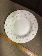 "WEDGWOOD Cascade 8"" Soup Bowl China ENGLAND - Flower Pattern - $13.55"