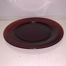 """Vintage Anchor Hocking Ruby Red Salad Plate 8"""" - $5.00"""