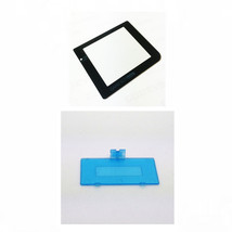 New CLEAR BLUE Nintendo Game Boy Pocket GBP Battery Cover + GLASS Screen... - $6.88