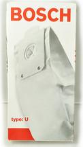 Bosch Tipo U Sacchetti per Aspirapolvere 461616,BBZ5AFUC - $29.65