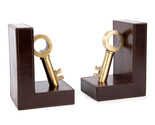 Book End Premium Quality Brass Key Pair Book Stopper for Books, Bookend - $450.00