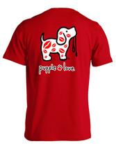 Puppie Love Rescue Dog Men Women Short Sleeve Graphic T-Shirt, Kisses Pup