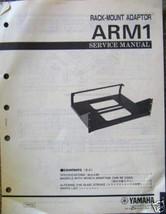 Yamaha ARM1 Rack Mount Adapter Unit Original Service Manual, Schematics,... - $9.89