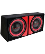 Crunch CR212A CR-212A Powered Dual 12 Subwoofer System - $306.67