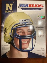 Fan Heads New - Navy College Helmet Tailgate Party Game Nib Ncaa - $9.89