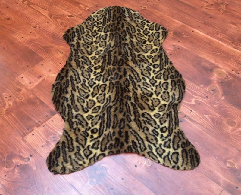 the best 28 images of faux leopard rug