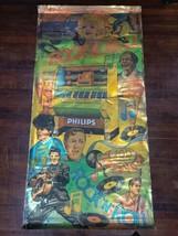 "Vintage Philips Slot Machine Foil Poster, 79""x39"" Elvis, Marilyn Monroe,... - $290.24"