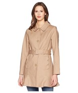 Kate Spade New York Belted Trench Coat Size L MSRP: $525.00 - $247.49