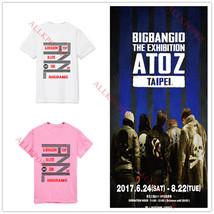 KPOP Bigbang 10th Anniversary T-shirt TaeYang Unisex Tshirt G-Dragon Cot... - $10.38
