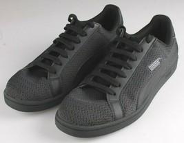 PUMA Men's Smash Knit C Black Casual Athletic Sneakers Gym Shoes image 1