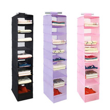 Nine Layers Rack Wardrobe Organizer Closet Portable Shelves Clothes Stor... - $24.99