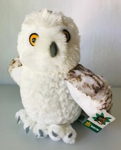 Plush Snowy Owl Stuffed Animal Wild Republic Cuddlekins 12 inch #10957 2... - $16.44