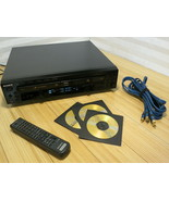 SONY RCD-W500C Combo Compact Disc Recorder & 5-Disc Changer, Remote, Cables - $233.39