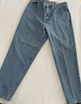 Levi 550 Relaxed Fit Light Fade Denim Jeans Tag Measure 14 mis Exc Cond - $20.90