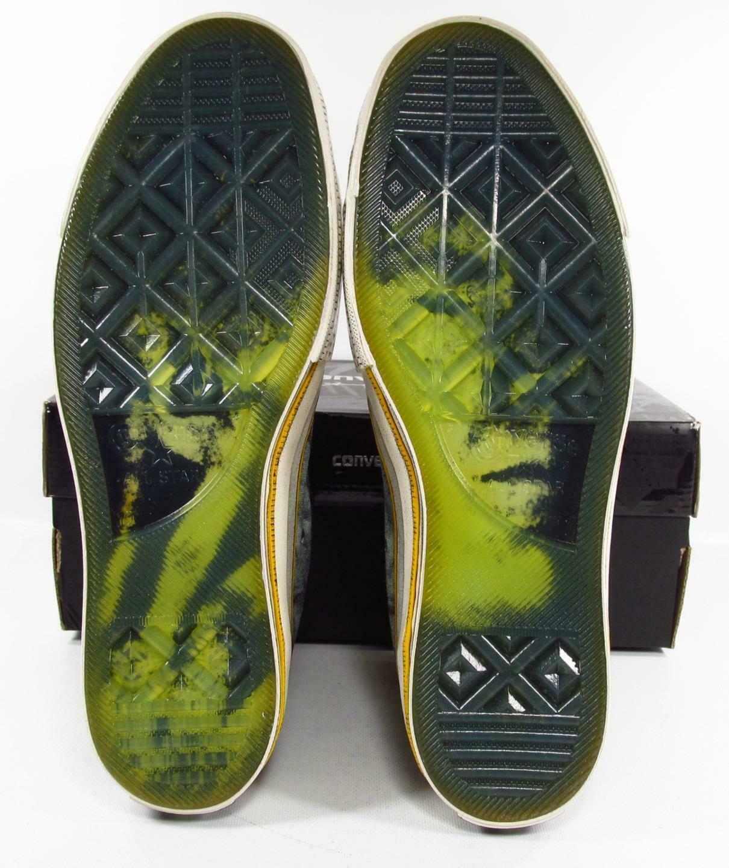 Converse Andy Warhol Chuck Taylor 70 Hi Abstract GREEN 150141C 10 MEN RARE!