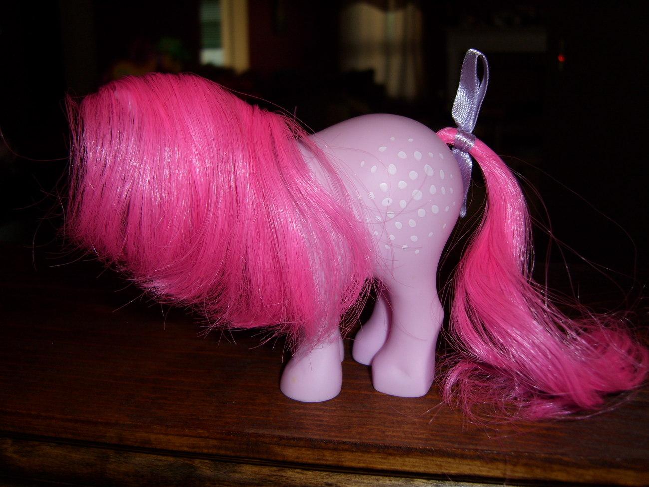 My Little Pony G1 Retro 2007 FF Cotton Candy
