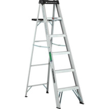Louisville Ladder 6 ft. Lightweight Aluminum Step Portable Painting Fold... - $61.80
