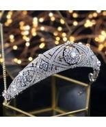 ASNORA Gorgeous Crown Tiara de Noiva Meghan Markle Wedding Hair Accessor... - $70.70