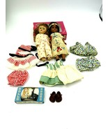 Vintage Strung Vogue Ginny Dolls Lot of Two (2) with Clothes and Shoes - $495.00