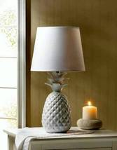 10018334 SHIPS FREE Gallery of Light White Pineapple Table Lamp - $36.72
