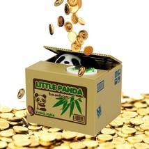 Coin Collecting Panda Bank! Cute Money Saving Bank for the Whole Family - $21.41