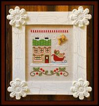 Sant'a Sleighworks Release #9 cross stitch Country Cottage Needleworks - $5.40