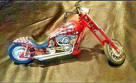 Chopper Motorcycle Figurine Replica 305-BVintage image 8