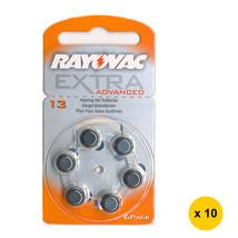 Rayovac (13) Extra Advanced Zinc-Air Hearing-Aid Battery (60pcs), PR-48 - $28.99