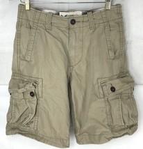 American Eagle Outfitter Classic Length Cargo Shorts Khaki 6 Pocket Mens... - $23.75