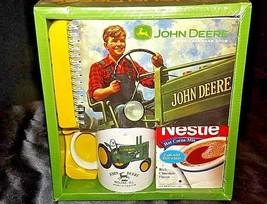 John Deere Mug Gift Package & Vintage 2009 Calendar w/ Nestle CocoaAA18... - $39.95