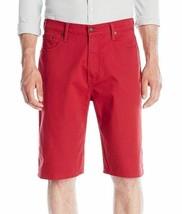 Levi's 569 Men's Premium Cotton Loose Straight Denim Shorts Red 355690208