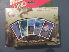 UNO Special Edition Card Game Tin-U.S. America National Parks  - $35.00