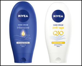 Nivea Hand Cream Intensive Nourishing Skin / Anti-Age with Q10 & UV Filt... - $12.99