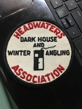 Headwaters dark house winter angling association patch vintage mississip... - $29.99