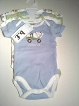 Brooks Fitch B.F. 4 PC Undershirts Sizes 0-3 OR 3-6 Months Assorted 100%... - $12.95