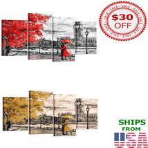 Wall Painting Umbrella Couple Best Interior Design Idea Home Decoration - $104.99+
