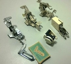lot of 6 Vintage Sewing Machine Attachments Singer - $29.76