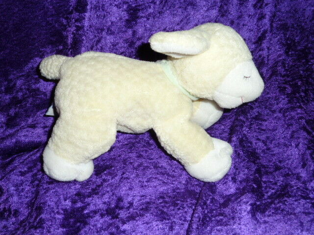 Primary image for Baby Gund Yellow 8 ½ Inch Plush Lamb Sheep Winky 5719 Stuffed Animal Toy Easter
