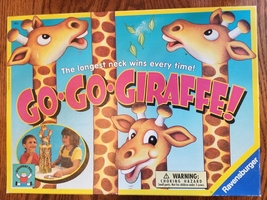 GO GO GIRAFFE GAME 1997 DISCOVERY TOYS RAVENSBURGER MADE IN GERMANY EXCE... - $30.00