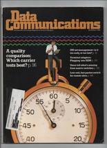 Data Communications - March 1989 - Quality Comparison, OSI Net Management. - $1.08