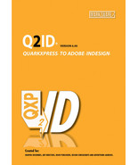 Quark Express to Indesign CS 6 Conversion Q2ID Markzware for Macintosh 1... - $189.95